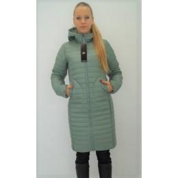 Женское двустороннее пальто Maddis Frida оливковое