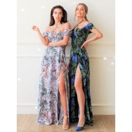 Квіткова сукня макси