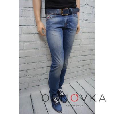 Чоловічі джинси з потертостями 081-270