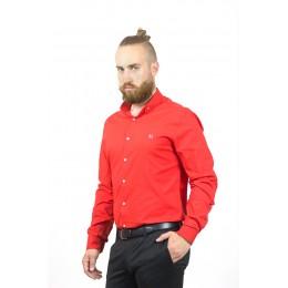 Рубашка мужская красная Maksymiv