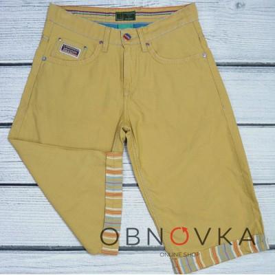 Мужские джинсовые шорты (бриджи)