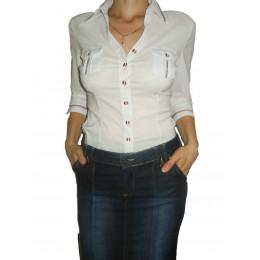 Женская офисная рубашка