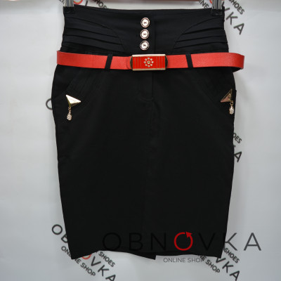 Черная юбка недорого