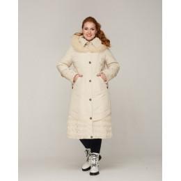 Модная женская длинная зимняя куртка