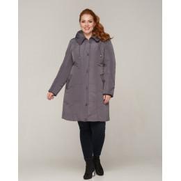 Женская батальная зимняя куртка