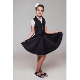 Шкільний костюм черный