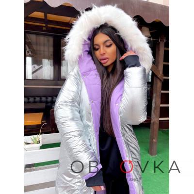 Зимняя двухсторонняя курточка