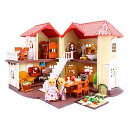 Будиночок Happy Family, тварини флоксовие (BK Toys Ltd 012-01)